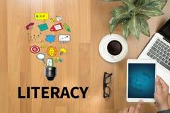 LITERACY Education School Financial Literacy to Education Stock Photo