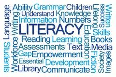 Free Literacy Word Cloud Royalty Free Stock Photo - 142924345
