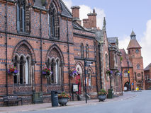 The Literary Institute in the Picturesque Town of Sandbach in South Cheshire England Royalty Free Stock Photos