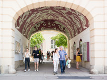 Literatur passage of Museums Quartier in Vienna, Austria Stock Image
