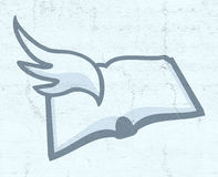 Literatura symbol royalty ilustracja