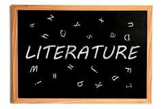 Literature Chalkboard Stock Photography