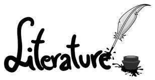 Literature icon. Creative design of literature icon Royalty Free Stock Images