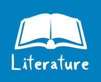 literature icon Stock Photos