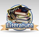 Literature icon Stock Photography