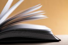 Literature. Heap page decoration document print nobody Royalty Free Stock Image