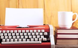 Literature. Secretary alphabet white read business write Stock Images