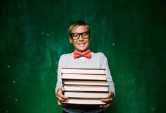 Literature lover Royalty Free Stock Photos
