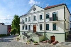 Literature Museum of Maxim Bogdanovich in Trinity Suburb, Minsk, Royalty Free Stock Photography
