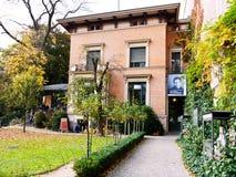 Literaturhaus在柏林 免版税库存图片