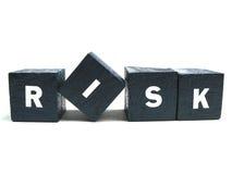 literować ryzyko literujący Zdjęcie Stock