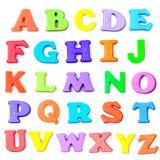 litery alfabetu Obraz Stock