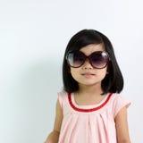 Litet asiatiskt barn Arkivbild