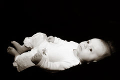litet barn Arkivbild