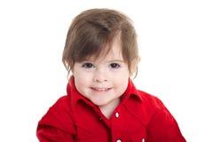 Litet barn behandla som ett barn att le Royaltyfri Bild