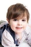 Litet barn behandla som ett barn att le Royaltyfri Foto