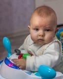 Litet barncloseup Royaltyfria Bilder