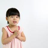 Litet barnflicka Royaltyfria Foton