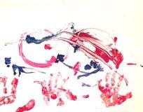 Litet barnmålning Royaltyfri Bild