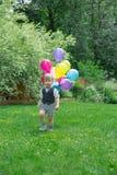 Litet barnpojke Arkivfoto