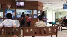 Litet djurt sjukhus av det Chiangmai universitetet lager videofilmer