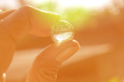 litet exponeringsglas Royaltyfri Fotografi