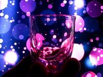 Litet exponeringsglas för bruk i drinkar Arkivfoton