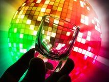 Litet exponeringsglas för bruk i drinkar Royaltyfri Foto