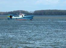 litet fartyg Royaltyfria Bilder