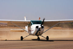 litet flygplan Arkivbild