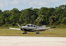 litet flygplan Royaltyfria Bilder