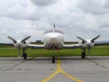 litet flygplan royaltyfria foton