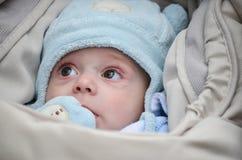 Litet gulligt behandla som ett barn pojken royaltyfri fotografi