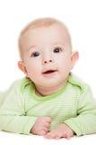Litet gulligt nyfött behandla som ett barn barnet Royaltyfria Bilder