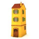 litet hus 3d Royaltyfria Foton