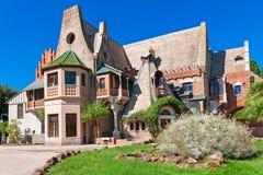 Litet hus av ugglor Royaltyfri Foto