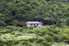 Litet hus på lantgården på Yangmingshan Taipei Taiwan Royaltyfria Bilder