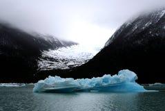 Litet isberg i nationalparken för Los Glaciares, Argentina Arkivfoton