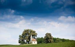Litet kapell fotografering för bildbyråer