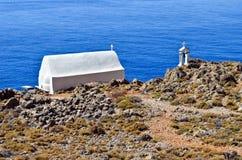 Litet kapell av Timios Stavros Royaltyfria Bilder