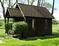 Litet kapell i landet Arkivfoton