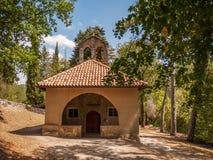 Litet kapell, Kroatien Royaltyfri Bild