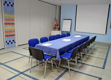 Litet konferensrum fotografering för bildbyråer