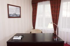 litet kontor royaltyfri fotografi