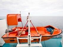 Litet livfartyg Arkivfoto