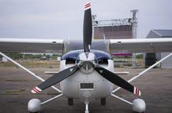 Litet ljust flygplan Royaltyfri Bild