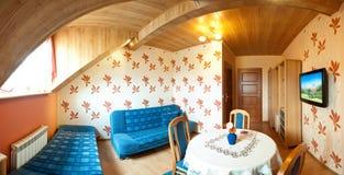 litet sovrumhotell Royaltyfri Bild