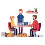 Litet starta upp företaget royaltyfri illustrationer