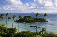 litet tropiskt för ö fotografering för bildbyråer