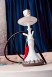 Litet vattenpiparör, också som är bekant som en shisha Arkivfoto